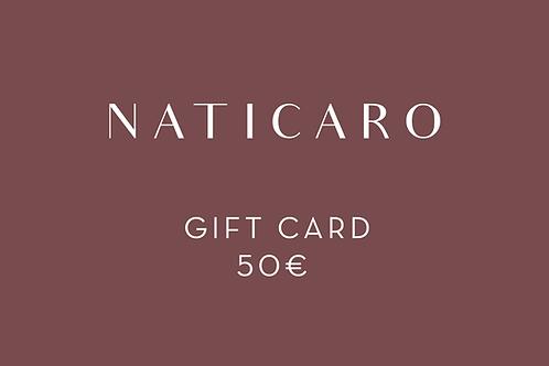 50 - GIFT CARD