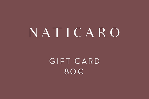 80 - GIFT CARD