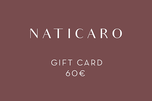 60 - GIFT CARD