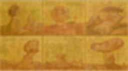 송윤선_ 상념(想念)-181123 45.5x37.9cmx6개 Mixed