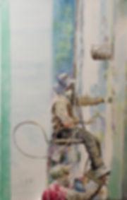 life(인생) 53.0×33.4 watercolor arche 2018
