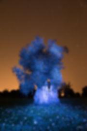 이흥렬1오레지색 하늘과 꽃밭의 푸른 올리브나무.jpg