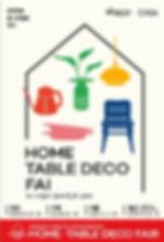 HOME TABLE DECO FAIR