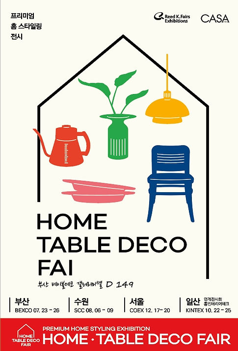 HOME TABLE DECO FAIR
