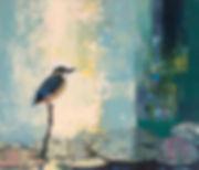 2018 새와 수련 10F oil on canvas.JPG