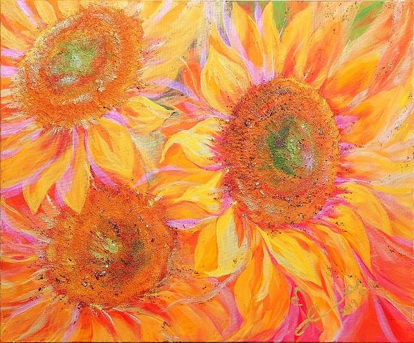 김계 Sunflowers dreaming of the sun.jpg