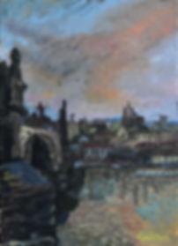 프라하에서, oil on canvas,4F,2017,이승현 작가.jpg