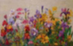 아이리스 정원 53x33.4 윤향남 oil on canvas 2019.j