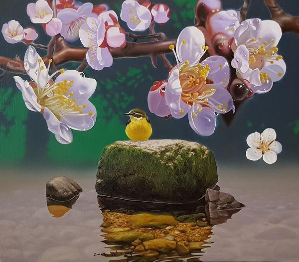 김기택-아침이슬(10호)oil on canvas.2019