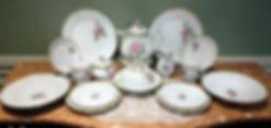박엘림-2인조 디너셋트 19piece porcelain paiting 2