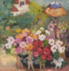 사랑 72.7x72.7 윤향남 2008 oil on canvas.jpg