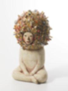 생각의 우주,ceramic,22x20x42cm,2018.jpg