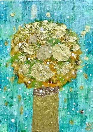 황금빛 나무