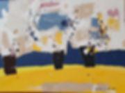 한영숙3-자유로운 질서 530mm-727mm mixed on canvas