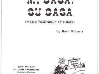 "A Great ""All-Around"" Holiday Song for your Elementary School...Mi Casa, Su Casa!"