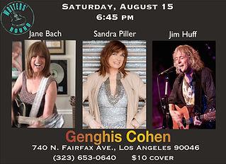Genghis Cohen 8-15-15 (3 people) 4x6 b.j