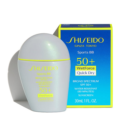 Base de maquillaje Shiseido Sun Sports BB Light 30 Ml