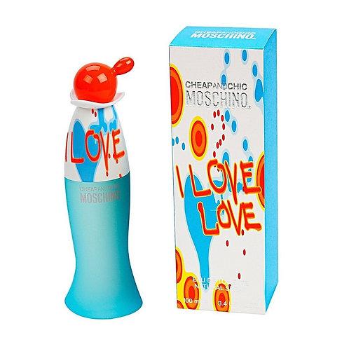 Moschino I Love Love Eau de Toilette 100 Ml