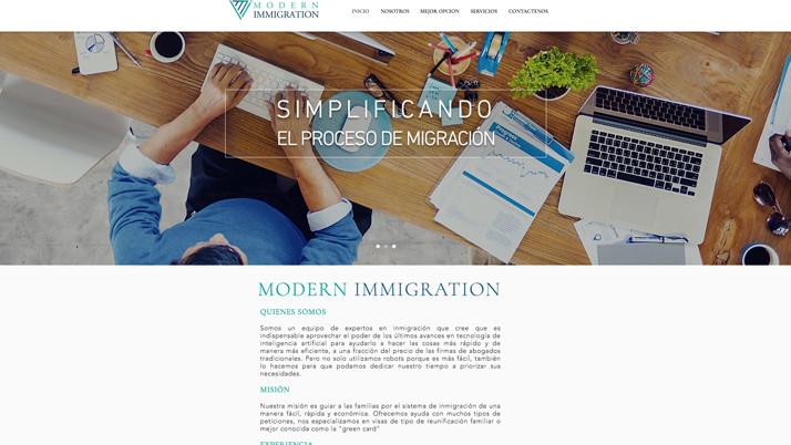 Modern Immigration