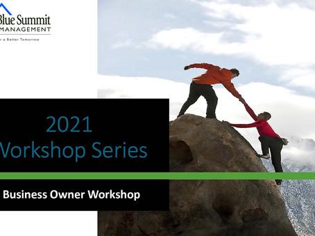 BSWM Webinar: Business Owner Workshop