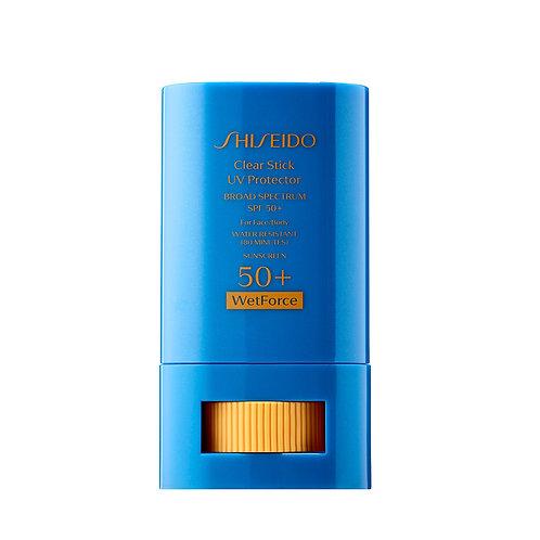 Protector Solar Shiseido Clear Stick SPF 50 15 Gr