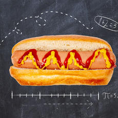 100% All Beef Hot Dog