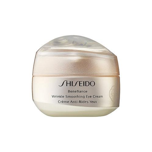 Crema para ojos Shiseido Benefiance Wrinkle Smooth 15 Ml