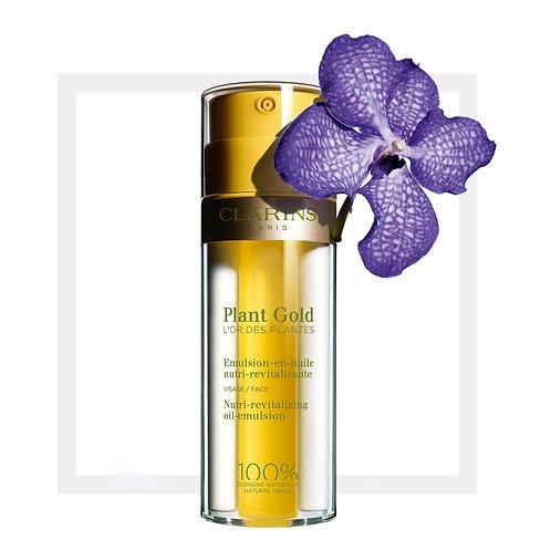 Emulsion en aceite para el rostro Clarins Plant Gold 35 Ml