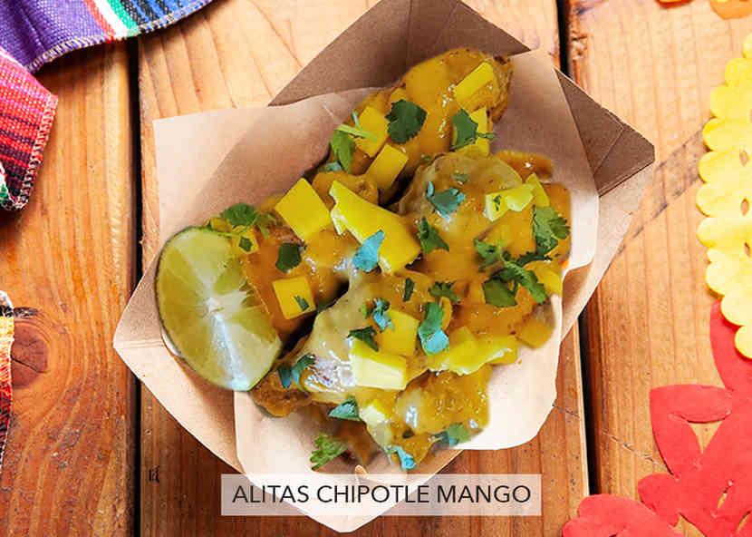 """Alitas """"Wings"""" Chipotle Mango"""