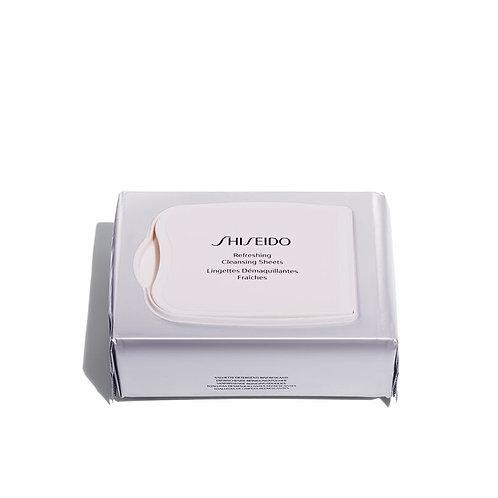 Toallitas limpiadoras Shiseido Refreshing Cleansing 30 pcs