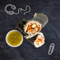 Mexicali Sushi With Tomatillo