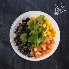 Cilantro Lime Rice Salad