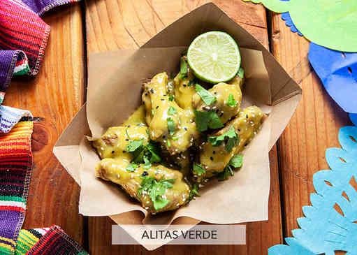 """Alitas """"Wings"""" Verde"""