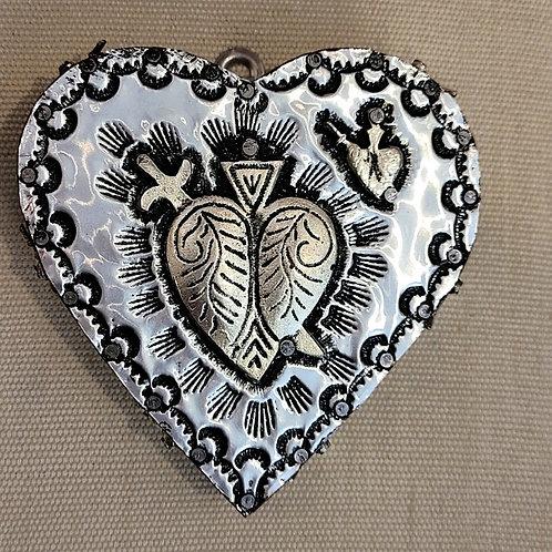Repousse Metal Heart