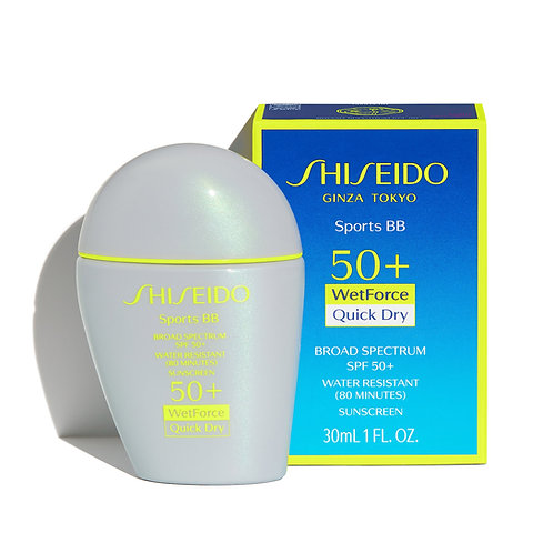 Base de maquillaje Shiseido Sun Sports BB Medium 30 Ml
