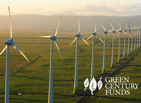 Green Century Purchases Kenyan Wind Farm Green Bond