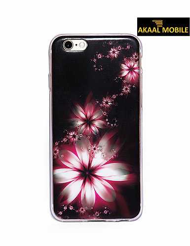 Backcover mit pinken Blumen iPhone 6/6s