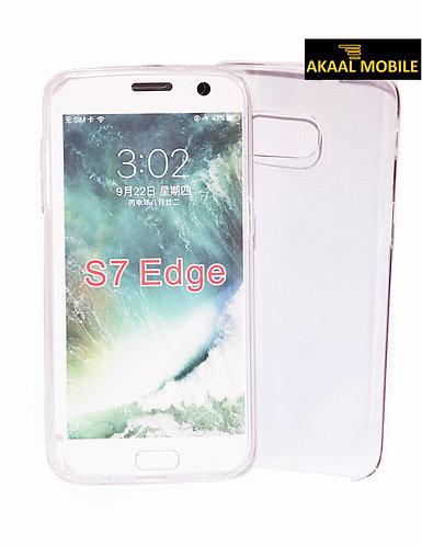 360 Komplettschutz für Samsung S7 Edge transparent