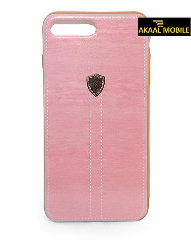 iPhone 7 Case Rosa Lederlook