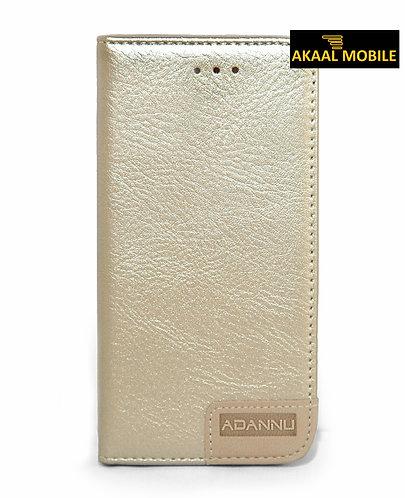 Adannu Flip Case Silbergold iPhone 5/5s/6/6Plus/6s/6sPlus/7/7Plus