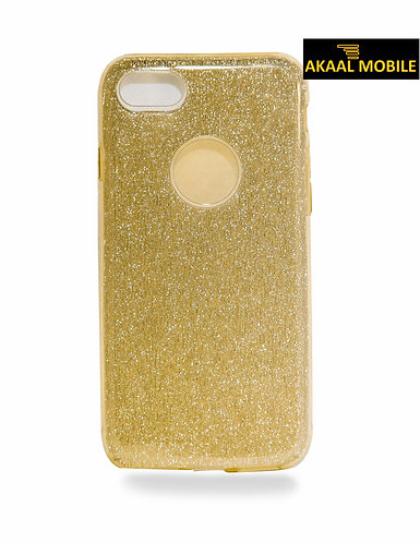 Backcover Gold Glitzer iPhone 6/6s
