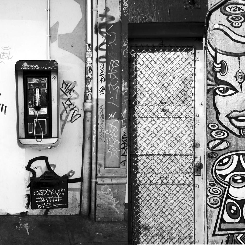 Haight Ashbury Graffiti One