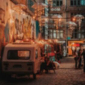 Nachtleben in der Stadt