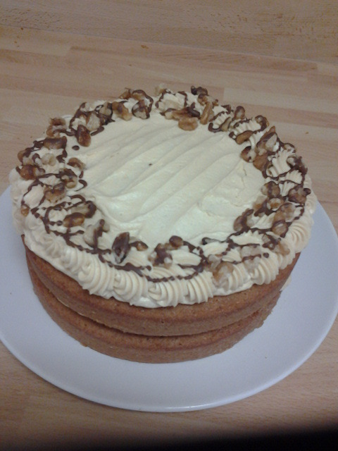 Coffee Walnut Cake