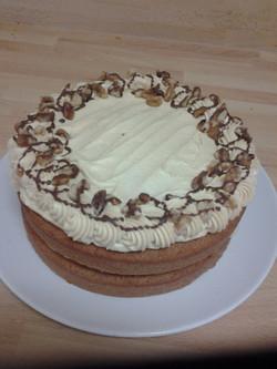 Coffee Wanut Celebration Cake