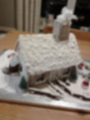 Gingerbreadhouse Woolsery School Xmas Fa