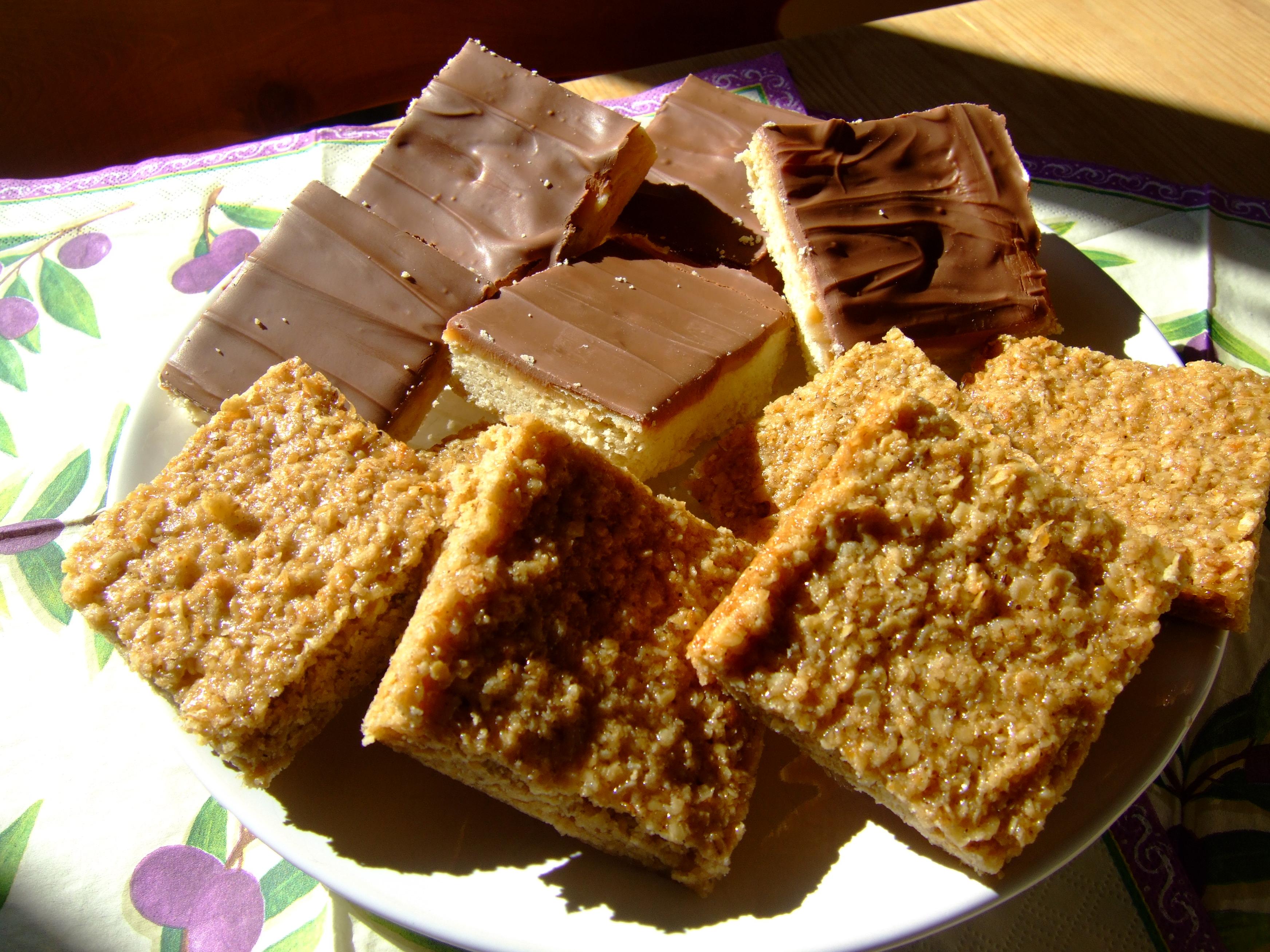 Flapjack & Caramel Shortbread