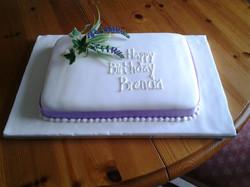 Celebration Birthday cake
