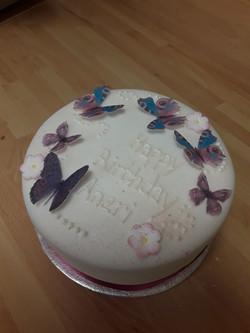 Victoria Butterfly celebration cake