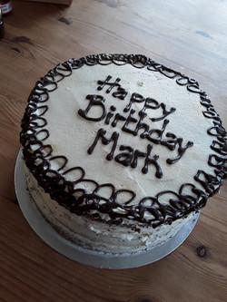 Coffee Celebration cake